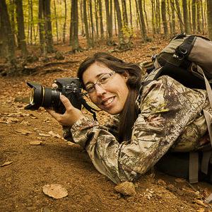 Marta-Bretó Directora Académica del Curso de Fotografía de Naturaleza en el Monte Kenia